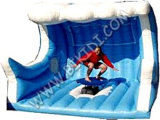 Inflatable Mechanical Surfing Board Inflatable Machine Rodeo Bull Ride B6065-a