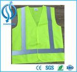 Green High Vis Traffic Safety Vest