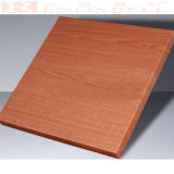 Wood -Like Aluminum Honeycomb Panel for Facade System