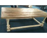 Antique Old Elm Wood Coffee Table Lwd547