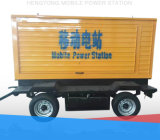 40kw 50kVA Diesel Generators Mobile Trailer/Silent Power Station with Stamford Alternator