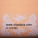 46cm Rayon and Polyester Wedding Lace Trim From China Factory Vb-5101bc