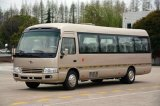 Environmental Coaster Minibus / Passenger Mini Bus Low Fuel Consumption