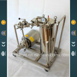 Stainless Steel Mobile Bag Filter