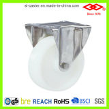 200mm Nylon Stainless Steel Fixed Caster Wheel (D104-20D200X50A)