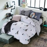 Made in China Latest Design High Quality 100% Cotton Bedding Quilt Cover Set