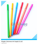 6PCS Classic Triangular Sharp Fine Liner Pen for Kids and Students