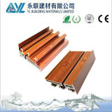 Yl Brand High Quality 6063 Wood Grain Aluminum for Sliding Window Parts