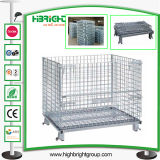 Metal Collapsible Wire Stackable Storage Cage