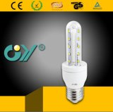 3000k 2u 6W LED Light Bulb with CE RoHS SAA