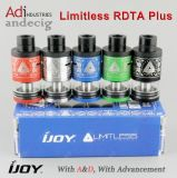 Original Black/ Red Limitless Plus Atomizer, Capacity 6.3ml Ijoy Limitless Plus Rdta