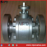 Forged Steel Floating Flanged Ball Valve