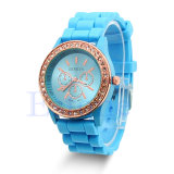Wholesale Fashion Colorful Silicone Band Jelly Watch for Promotional