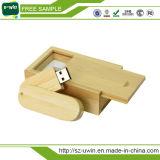 Wooden Pen Drive Rotation 2.0 USB Flash Drive Memory Stick
