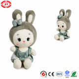 Light Green Bunny Princess Big Head Plush Toy
