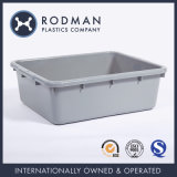 Stackable Food Grade Material HDPE No. 14 Plastic Food Tray