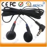 Mini Cheap Aviation Earphone 1pin Plug Earphone