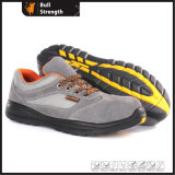 Industrial Leather Safety Shoes with Steel Toecap (Sn5379)