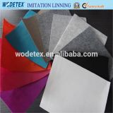 New Polyester Mixed Color Imitation Lining Fabric for Shoe Insole