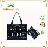 Promotional Shiny Vinyl PVC Shopping Tote Bag