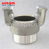Aluminum Guillemin Coupling Male Thread Without Locking Ring