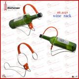 Single Bottle Novel Metal Frame Wine Display Rack (6429)