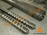 Pelletizer Twin Parallel Screw Barrel Pelletizing Screw Barrel