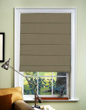 Fabric Roman Windows Shades Blinds Jacquard Sun Shade Cord Control