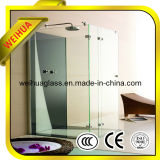 4-19mm Tempered Glass Shower Screen with CE / ISO9001 / CCC