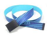 Classic Cotton Webbing Braided PU Fashion Belt Cky0295