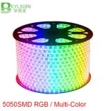 60LEDs/M 110V 220V RGB/Multicolor 5050 LED Strip Lights Three Core Nowaterproof