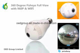 360 Degree Fisheye Full View Angle 1.3MP Mini WiFi Camera with Two Way Audio 3D Full Viewing