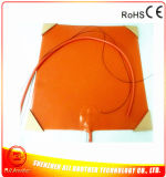 320*320*1.5mm 3D Printer Heater Silicone Rubber Heater 120V 500W 3m Adhesive 100k Thermistor