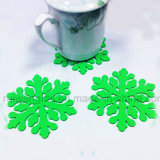Snowflake Flaxible Silicone Cup Coaster