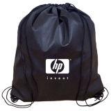 Custom Logo Promotional Drawstring Non Woven Bag