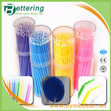 Disposable Plastic Micro Applicator for Dental Use