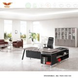 Fashion Design Office Furniture Melamine Office Desk Office Table with L Shape Return (H70-0169)