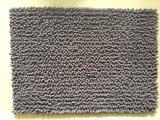100% Polyester Bathroom Set Rug Anti-Slip Chenille Bath Mat