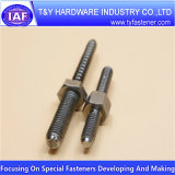 Low Price A2 Hanger Bolts with Hex Nuts