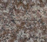 Peach Red Granite Patten House Wall Cladding Patten Wall Tile