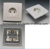 Europe Socket Plastic White 10A250V