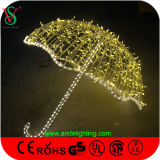 Colorful LED Umbrella Light Christmas Decoration