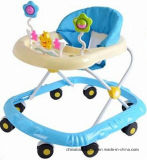 Factory Sales Safe Softextile New Model Baby Walker with Removable Musical Box