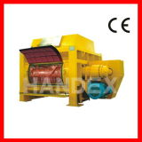 Twin Shaft Concrete Mixer (Side Open Doors)