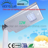 12W Powerful LED Integrated Solar Street Light