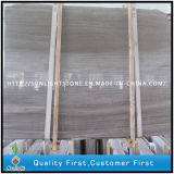 Cheap Chinese Grey Wooden Marble Slabs for Floor/Wall Tiles