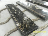 Granite Step, Cosmic Black Granite Stair for Step and Tile