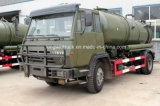 Sinotruk HOWO Brand Suction Sewage Truck/Fecal Suction Truck/Vacuum Sewer Cleaner Truck with 4X2 Driving Type