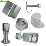 Jialifu 304 Stainless Steel Toilet Cubicle Hardware Toilet Lock