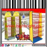 Promotional Metal Wire Snack Basket Display Rack